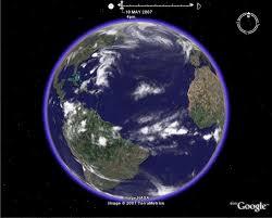 Google Earth Visualizationgoogle Earth Weather Global Clouds