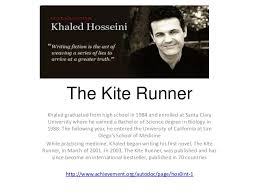 the kite runner the kite runner khaled graduated from high school in 1984 and enrolled at santa clara university