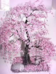<b>Bonsai</b> Beaded Tree <b>Home Decor</b> - Sakura | Бисероплетение ...
