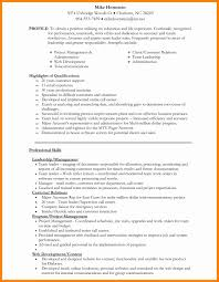 7 Mba Application Resume Sample New Hope Stream Wood