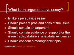 what is an argumentative essay is like a persuasive essay should  what is an argumentative essay