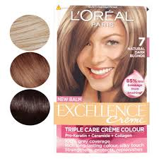 L Oreal New Balm Excellence Creme Triple Care Creme Hair Colour