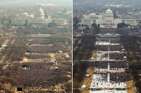 Trump Inauguration Crowd Smaller Than Obamas Time