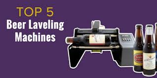 Homebrew Small Business Bottle Labeling Machines