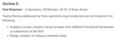 ap psychology mr duez frq ap psychology response section