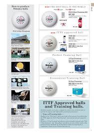Nittaku Blade Chart Nittaku Catalog 2018 En Pages 1 36 Text Version Fliphtml5