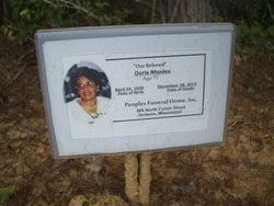 Doris Rhodes (1935-2012) - Find A Grave Memorial