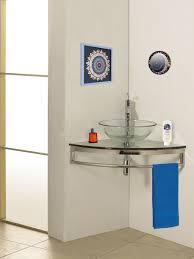 steel bathroom vanity. Lovely Bathroom Decoration Using Vessel Sinks : Minimalist Image Of Small Mount Steel Vanity V