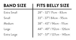 Belly Size Chart Belly Bandit Viscose From Bamboo