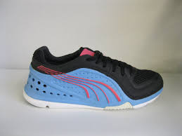 puma shoes pink and blue. ladies puma l.i.f.t. racer black/ aquarius blue/ fluo pink lace up trainers men\u0027s shoes and blue r