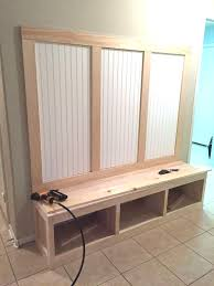 Mudroom Bench With Coat Rack Diy Mudroom Bench Plans Awesome Mudroom Bench And Coat Rack Mudroom 9