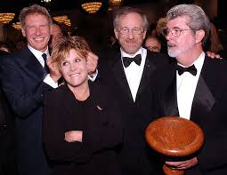 mark hamill carrie fisher harrison ford 2013. Contemporary Mark Carrie Fisher Jokes Around With Harrison Ford George Lucas And Steven  Spielberg To Mark Hamill Ford 2013 I