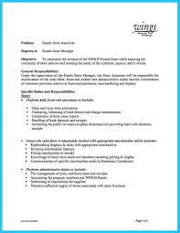 You Can Start Writing Assistant Store Manager Resume By Introducing