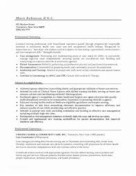 Resume Templates Nurse Stunning Rn New Grad Resume Simple Resume Examples For Jobs