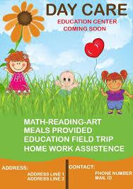 Daycare Coming Soon Flyer Preschool Activities