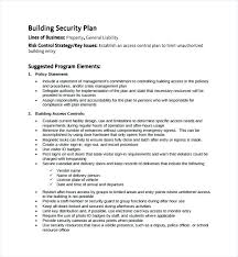 building security policy template building security policy template security company business plan template business plan template