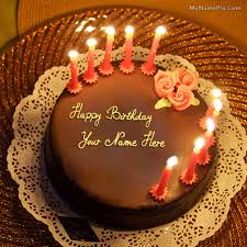 Birthday Cake With Name Birthday Cake For A Husband
