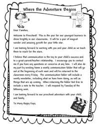 Welcome Letter To Parents Template Under Fontanacountryinn Com