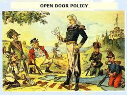 Political Cartoon Analysiss Open Door Policy Political Cartoon