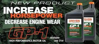 Driven Racing Oil Home Page