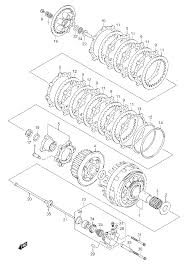 2006 suzuki sv1000 clutch parts best oem clutch parts diagram for 06susv1000006 m10398sch510283