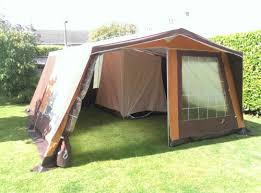 Retro-Frame-Tent-Canvas-Tent-Outstanding-Condition-Terka-