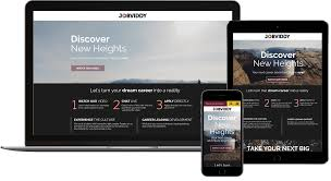 experts in recruitment video video landing pages
