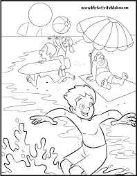 Small Picture Fun Summer Coloring Pages 11247