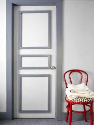 modern painted interior doors. Bold Bathroom Door Update Modern Painted Interior Doors R