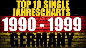 German Deutsche Top 10 Single Jahres Charts 1990 1999 Year End Charts Chartexpress