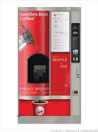 Seattle's Best Vending Machine Awesome Innovation In Vending Machines Forget Instant Try Premium Coffee