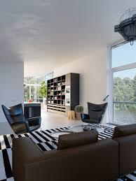 Impressie Interieur Watervilla Woonkamer Door Agnova Architecten