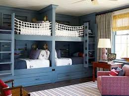 Boys Enjoy Ship-Inspired Bunk Beds