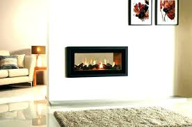two sided fireplace indoor outdoor wood burning double 2 gas