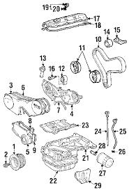 parts com® toyota highlander engine appearance cover oem parts 2002 toyota highlander base v6 3 0 liter gas engine appearance cover
