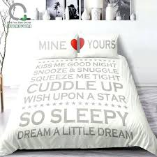 love bedding set set a it is all about our sleeping dream love bedding love therapy