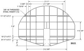 outdoor basketball backboard dimensions ideas