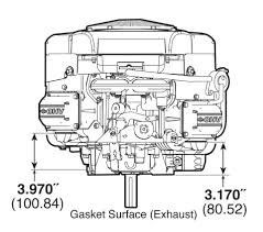small engine surplus com briggs stratton hp briggs stratton 23 hp 445577 3037