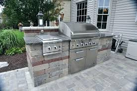 diy backyard kitchen ideas outdoor on a budget images plans free build architectures winsome