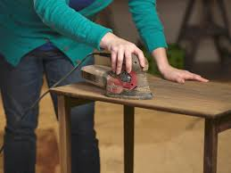Refinish Stained Wood How To Strip Sand And Stain Wood Furniture How Tos Diy