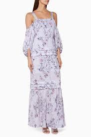 Light Purple Maxi Dress Shop Purple Light Purple Printed Simone Maxi Dress For