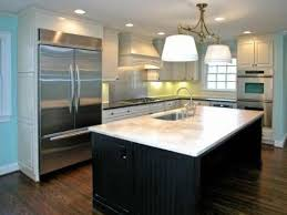 Image Of: Small Kitchen Island Design Sink Ideas