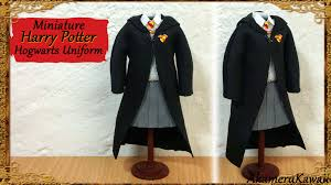 Harry Potter Robe Pattern Fascinating Harry Potter Inspired Doll Uniform Fabric Tutorial YouTube