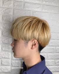 メンズカット 韓国ヘア ショート マッシュlee 東三国 髪質改善縮毛