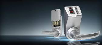 biometric fingerprint door lock adel trinity 788