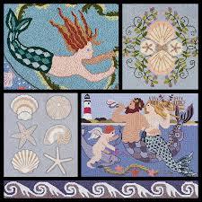 claire murray coastal treasures hand hooked rugs