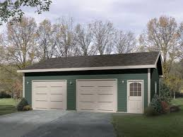 over size two car garage plan