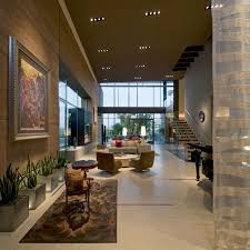 Living Room Rug Art High Ceiling Massive Modern Home In Las Vegas ...