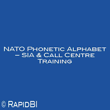 The symbol from the international phonetic alphabet (ipa), as used in phonetic transcriptions in modern dictionaries for english learners — that is, in the problem with this convention is that e in the ipa does not stand for the vowel in bed; Nato Phonetic Alphabet For Call Centre Training Sia Training