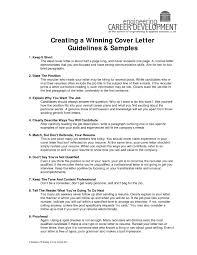 Download Winning Cover Letters Samples Haadyaooverbayresort Com
